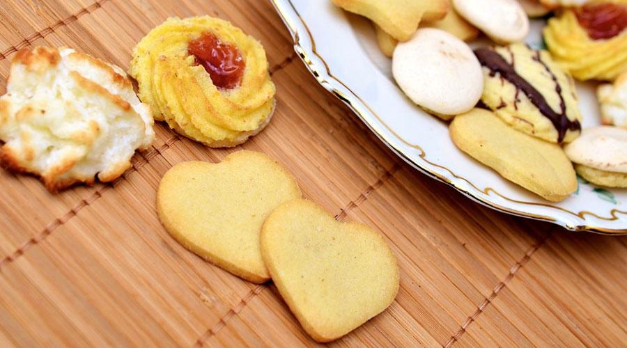 Biscotti di ogni forma e tipologia