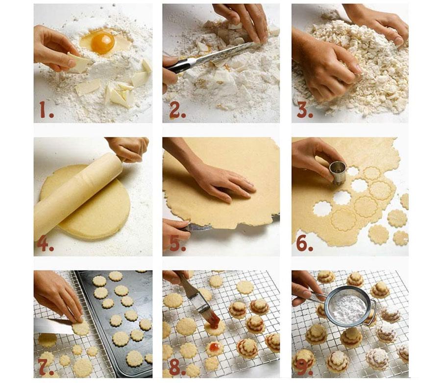 Passaggi per realizzare degli ottimi biscotti con forme professionali