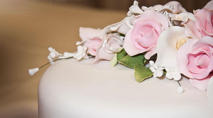 Rose di pasta di zucchero