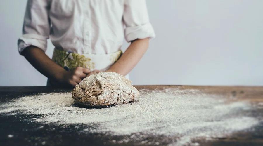 Farina macinata per fare il pane