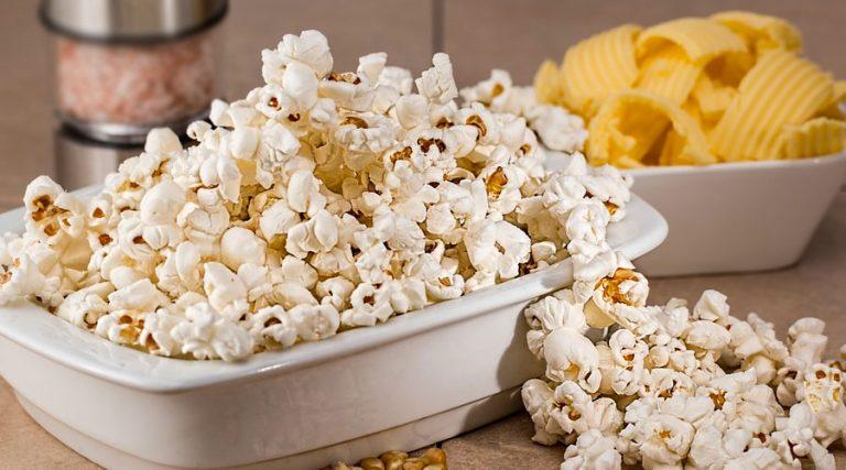 popcorn al formaggio salato