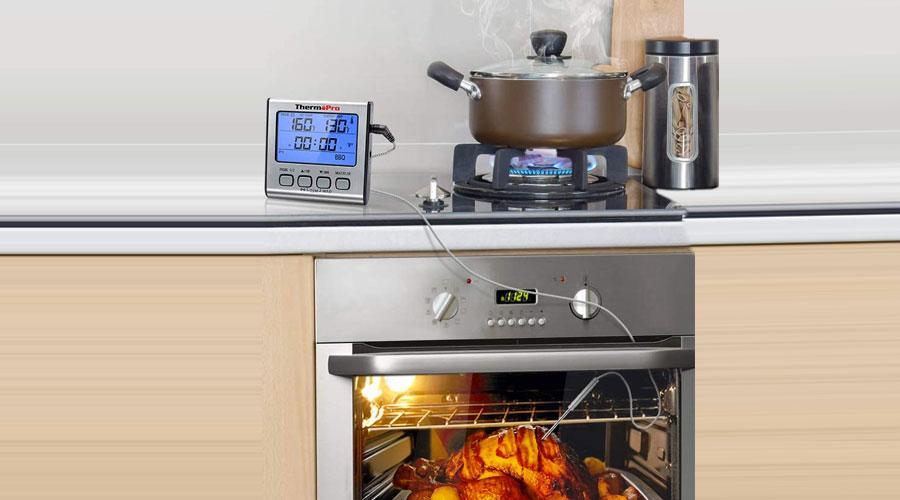 Termometro da forno professionale con sonda